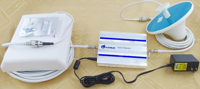 安装手机信号放大器-吸顶平板灯图片